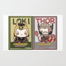 Siblings Poster Rug