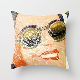 No Time For Change. Throw Pillow