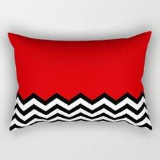Black Lodge Dreams (Twin Peaks) Rectangular Pillow