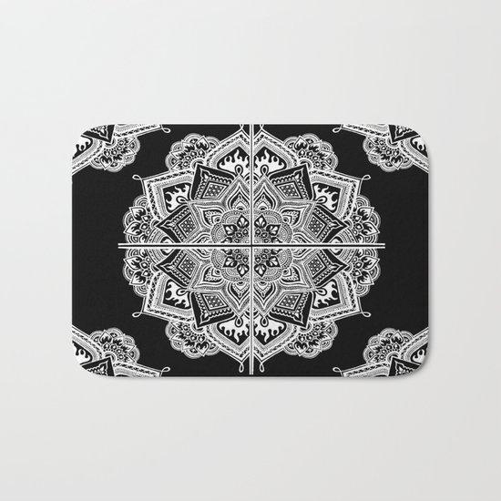 Mandala Lace (Tile) Bath Mat