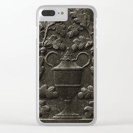 Mourning Urn Clear iPhone Case
