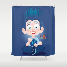 Nuly/Character & Art Toy design for fun Shower Curtain