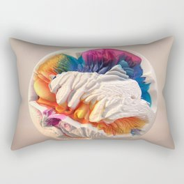 ACRYLIC BALL II // 3D ABSTRACT Rectangular Pillow