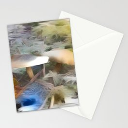 Mushrooms Needles Mosses Stationery Cards