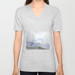 Saint Under The Clouded Sky Unisex V-Neck