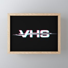 VHS Framed Mini Art Print