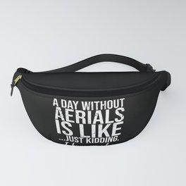 Aerials funny sports gift idea Fanny Pack