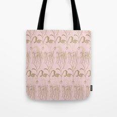 Blush Botanical Pattern Tote Bag