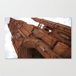 Fatima  church Canvas Print
