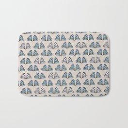 Madam Butterfly Print Bath Mat