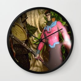 Gambit: In The Ruins Wall Clock