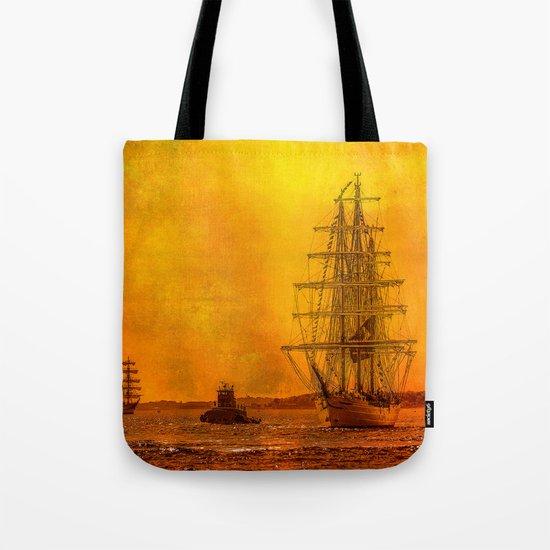 Tall Ships - Morning of Glory  Tote Bag