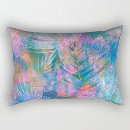 Waikiki Tropic {Aqua} Rectangular Pillow