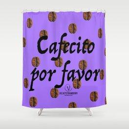 Cafecito Por Favor Shower Curtain