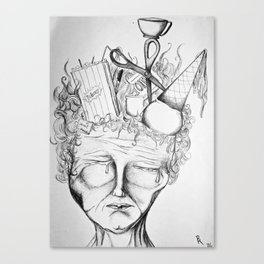 Heavy With Thought Canvas Print
