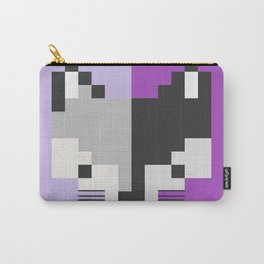 Mapache pixel Carry-All Pouch