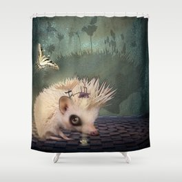 Rebel With a Cause Shower Curtain
