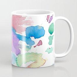 Multicolor watercolor Coffee Mug