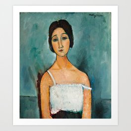 Amedeo Modigliani - Christina Art Print