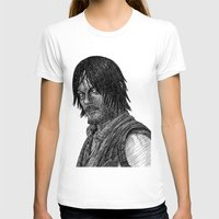 daryl T-shirts featuring Daryl Dixon by Jack Kershaw