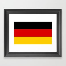 Flag of Germany - Authentic High Quality image Framed Art Print