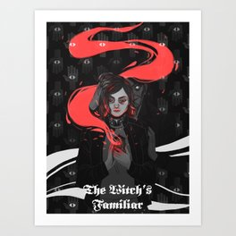 The Witch's Familiar Art Print