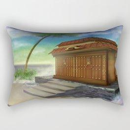 my own world Rectangular Pillow