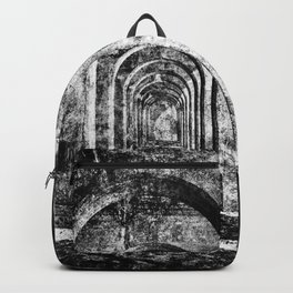 Monochrome Arches Backpack