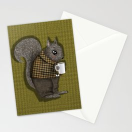 An Early Morning For Mister Squirrel Stationery Cards