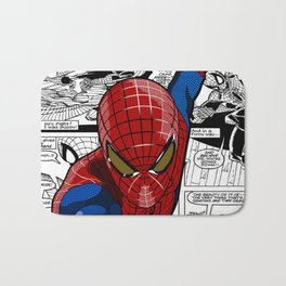 Spider-Man Comic Bath Mat