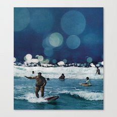 Surfers Hymn.  Canvas Print