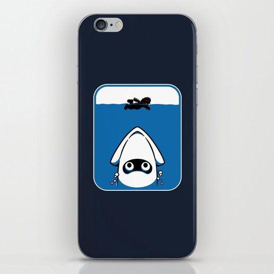 The Great White Blooper iPhone & iPod Skin