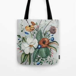 Moody Magnolia Arrangement Tote Bag