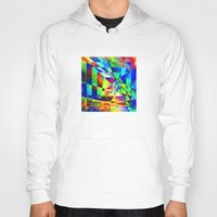 illusion Hoodies featuring Illusion. by Assiyam