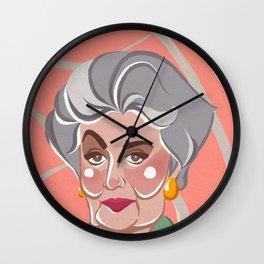 Golden Girls - Dorothy Zbornak Wall Clock