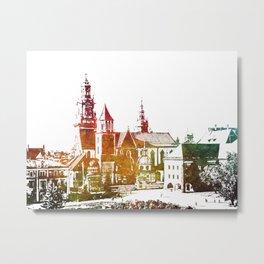 Cracow Wawel Metal Print