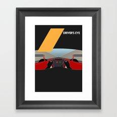 Drive - Driver's Eye Framed Art Print