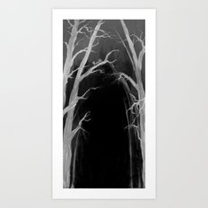 Someone has to be there... Art Print