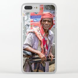 Rickshaw Clear iPhone Case