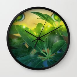 DREAM GARDEN Wall Clock