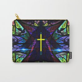 Heavenly Stained Glass Carry-All Pouch