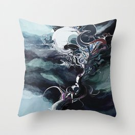 secret places of ghostly fairy-2 Throw Pillow