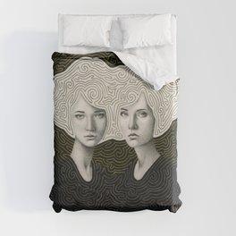 Orla and Olinda Duvet Cover