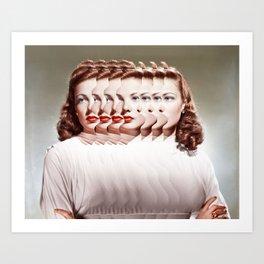 Duplicity (2014) Art Print