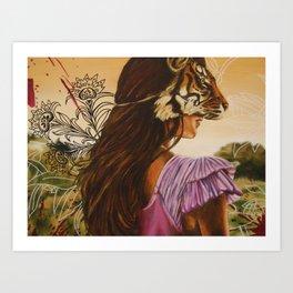 Tigris Art Print