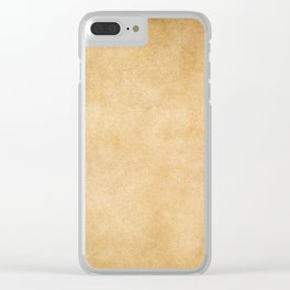 Grunge paper background Clear iPhone Case