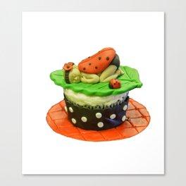 My Little Cupcake Canvas Print