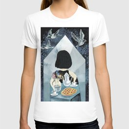 Home is the place where mother live T-shirt