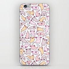 Adorable Axolotls iPhone Skin