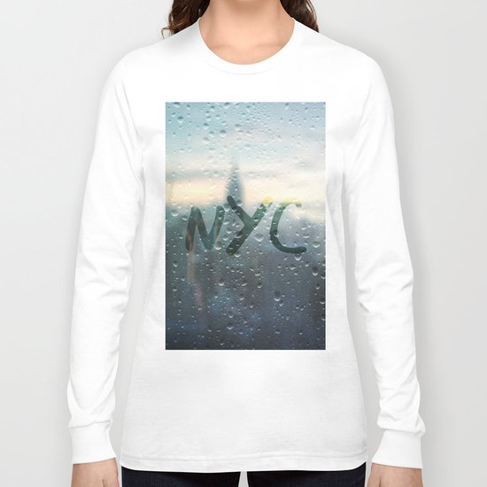 Rainy Day in NYC Long Sleeve T-shirt